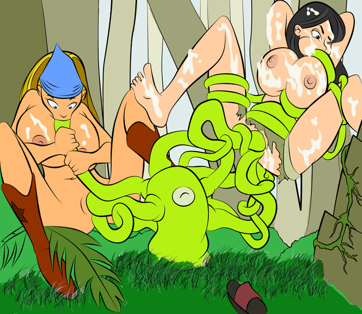 emma drama and total noah Harley quinn and poison ivy naked
