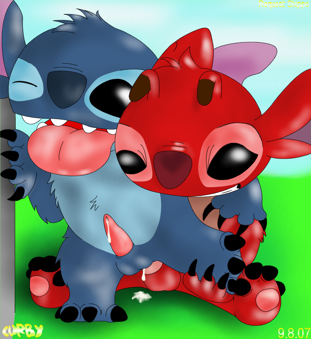 lilo stitch all experiments and Horizon in the middle of nowhere gelbooru