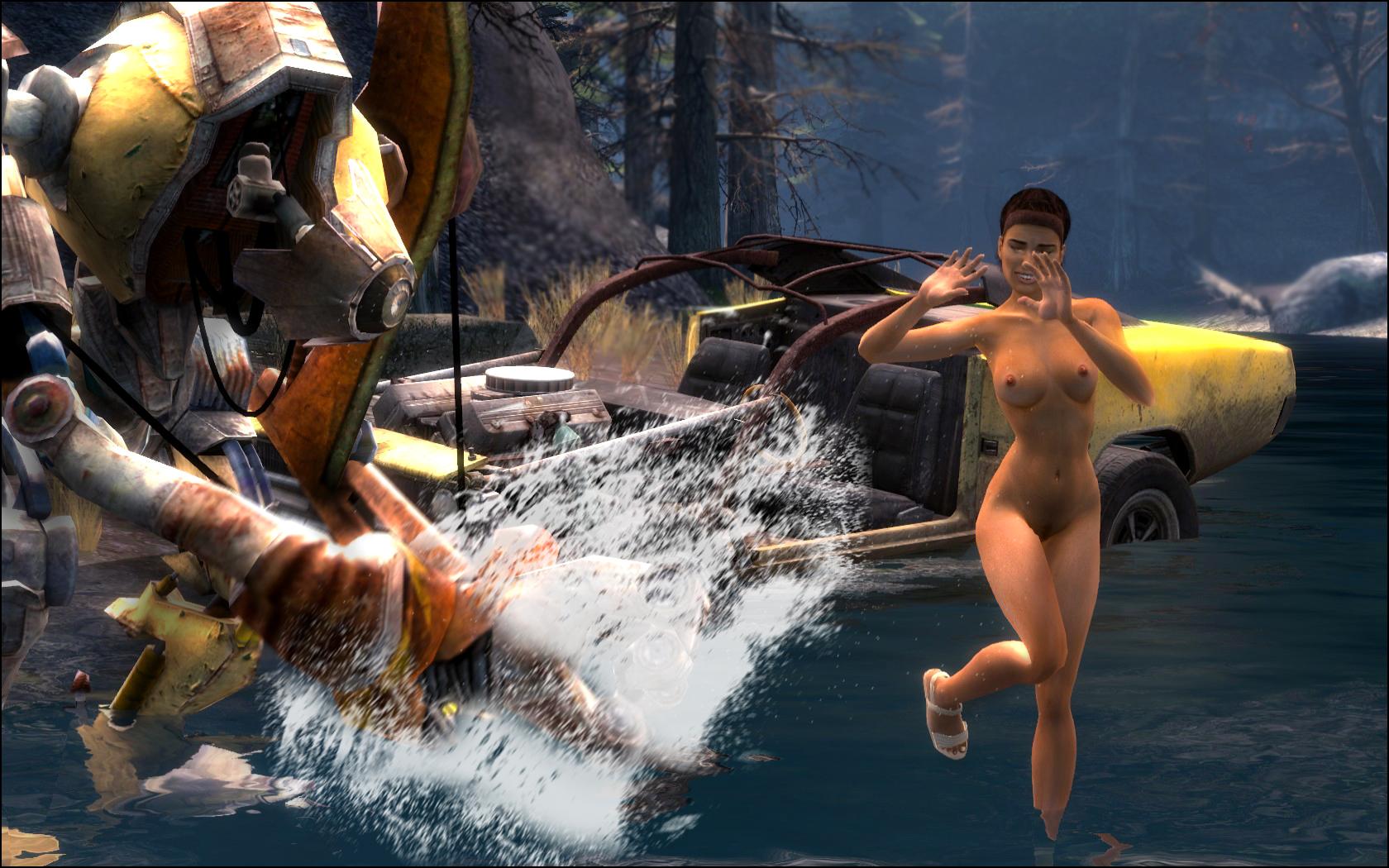 wild life willa's Skyrim aela the huntress nude