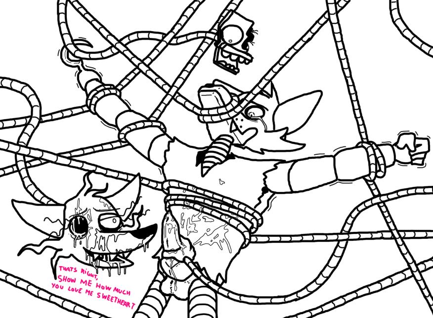 mangle fnaf porn x foxy Dragon's crown sorceress hentai gif