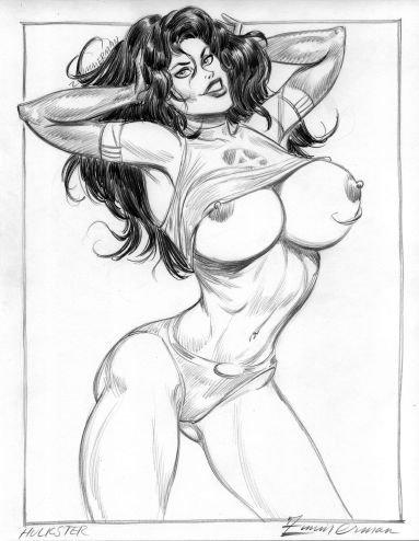 porn she-hulk comic Girl with the dragon tattoo earrings