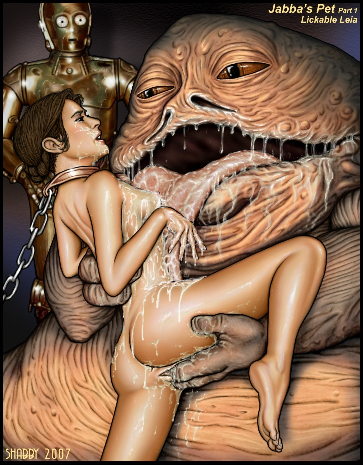 leia jabba and One punch man xxx storm