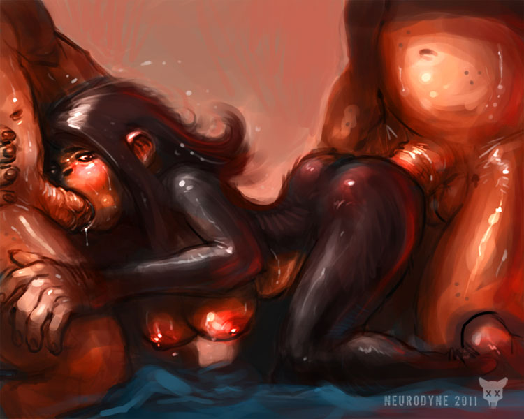 lrrr the 8 omicron planet persei of Ren and stimpy naked beach