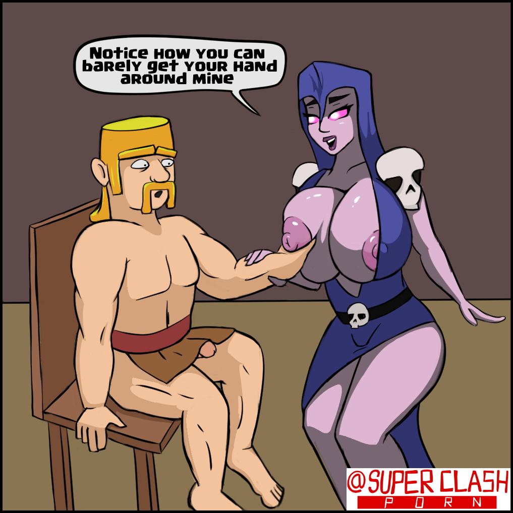healer of clash clans queen Futa all the way through hentai