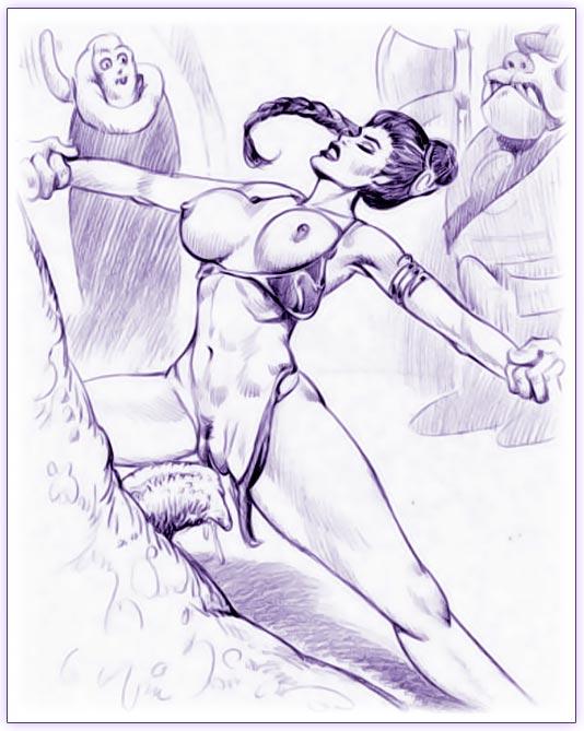 leia jabba and Yugioh maiden of the aqua