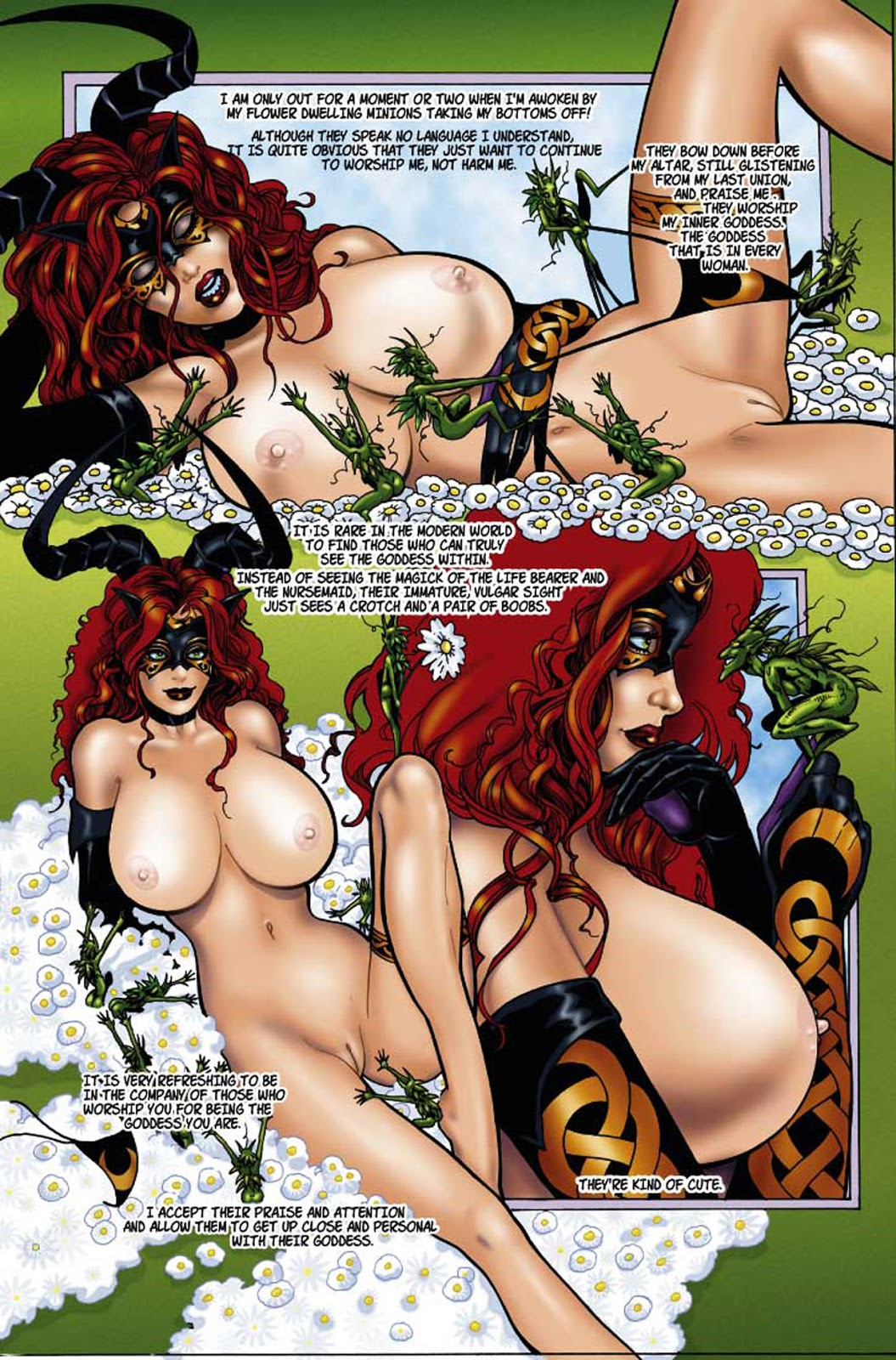 witch rose of black tarot the nudity Jack the ripper fate hentai