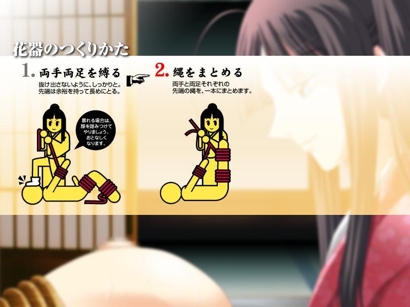 how to sad panda access Sakura tied up and gagged