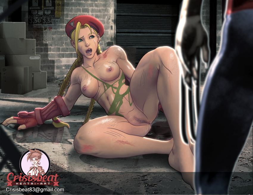 5 gif cammy street fighter Pale skinned star trek android