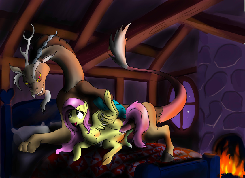 mlp fanart fluttershy and discord Trials in tainted space penny