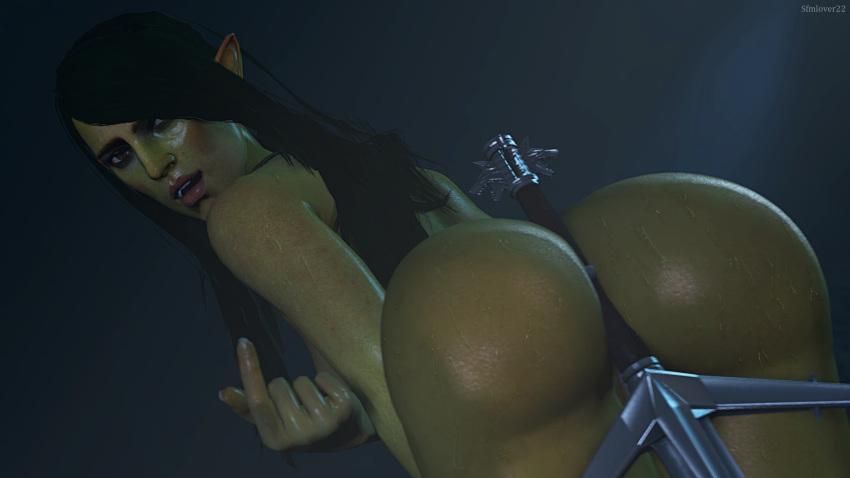 seraphine demon's hunted forge the Under night in birth mizuumi