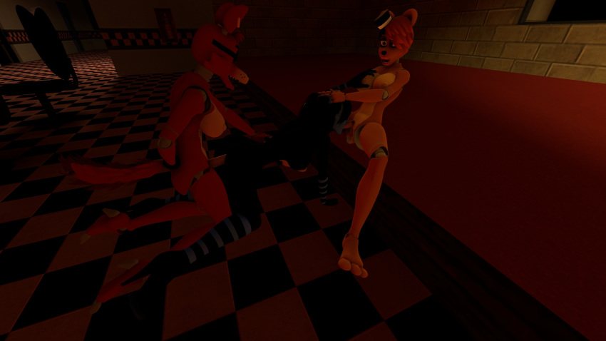 five freddy's at from nights puppet Xxx futa on male