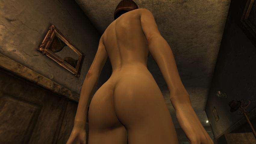 dala fallout new dr vegas Cum in ass close up