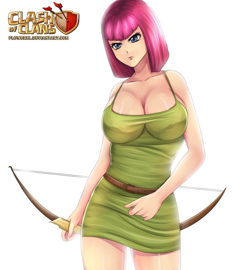 clans nude of archer queen clash Street fighter alpha 3 ingrid